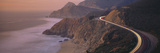 Dusk Highway 1 Pacific Coast CA USA