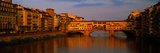 Ponte Vecchio Arno River Florence Italy