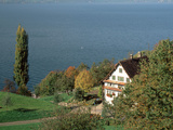 Chapel and Farmhouse Above Lake Zug Switzerland