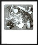 Reptiles Reproduction laminée et encadrée par M. C. Escher