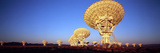 Radio Telescopes in a Field  Very Large Array  National Radio Astronomy Observatory  Magdalena