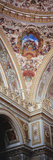 Turkey  Istanbul  Dolmabahce Palace  Interior Architectural Detail of Ceiling Mural