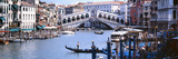 Bridge across a River  Rialto Bridge  Grand Canal  Venice  Italy