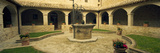 Courtyard of a Convent  San Damiano Convent  Assisi  Perugia Province  Umbria  Italy