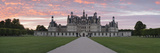 Facade of a Castle  Chateau Royal De Chambord  Loire-Et-Cher  Loire Valley  Loire River  Region 