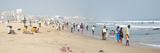People on the Beach  Chinna Waltair  Visakhapatnam  Andhra Pradesh  India
