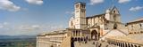 Tourists at a Church  Basilica of San Francisco  Assisi  Perugia Province  Umbria  Italy