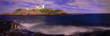 Lighthouse at a Coast  Nubble Lighthouse  Cape Neddick  York  York County  Maine  USA