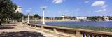 Promenade around a Lake  Lake Mirror  Lakeland  Florida  USA