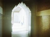 Corridor of the Bahia Palace  Marrakesh  Morocco