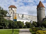 Medieval Wall  Tallinn  Estonia