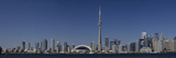 Skylines in a City  Cn Tower  Toronto  Ontario  Canada