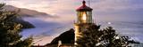 Lighthouse at a Coast  Heceta Head Lighthouse  Heceta Head  Lane County  Oregon  USA