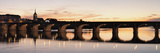 Arch Bridge across a River  Pont Cessart  Saumur Castle  Maine-Et-Loire  Pays De La Loire  Loire