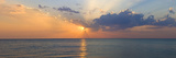 Sunset over Gulf of Mexico from Venice  Sarasota County  Florida  USA