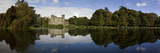 Lake and 19th Century Gothic Revival Johnstown Castle  Co Wexford  Ireland