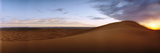 Sahara Desert Landscape at Sunset  Morocco
