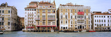 Palazzi Facades Along the Canal  Grand Canal  Venice  Veneto  Italy