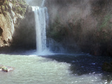Water Falling from Rocks  Ouzoud Waterfalls  Grand Atlas  Tanaghmeilt  Azilal  Marrakesh  Morocco