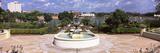 Fountain in a Garden  Hollis Garden  Lake Mirror  Lakeland  Florida  USA