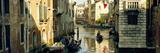 Boats in a Canal  Castello  Venice  Veneto  Italy