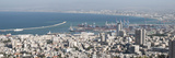 Buildings at the Seaside  Haifa  Israel 2010