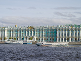 Museum at the Riverside  Hermitage Museum  Neva River  St Petersburg  Russia
