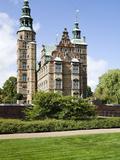 Facade of a Castle  Rosenborg Castle  Copenhagen  Denmark