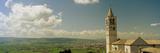 Bell Tower of a Basilica  Basilica Di Santa Chiara  Assisi  Perugia Province  Umbria  Italy