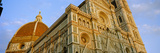 Low Angle View of the Cathedral  Duomo Santa Maria Del Fiore  Florence  Tuscany  Italy