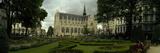 Garden in a Church  Eglise Notre-Dame Du Sablon  Brussels  Belgium
