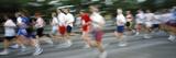 Runners in a Marathon  Stockholm  Sweden