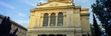 Low Angle View of a Synagogue  Tempio Maggiore Di Roma  Rome  Italy