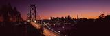 Bridge across a Bay  Ghirardelli Square  Fisherman's Wharf  San Francisco  California  USA 2009