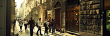 People Walking in a Pedestrian Street  Florence  Tuscany  Italy