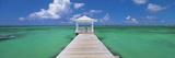 Pier in the Sea  Bahamas
