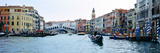 Buildings at the Waterfront  Rialto Bridge  Grand Canal  Venice  Veneto  Italy