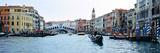 Buildings at the Waterfront  Rialto Bridge  Grand Canal  Venice  Veneto  Italy