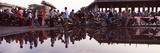 Demonstration after Mudflow  Sidoarjo Mud Flow  Surabaya  Java  Indonesia