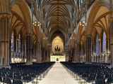 Interiors of a Cathedral  Lincoln Cathedral  Lincoln  Lincolnshire  England