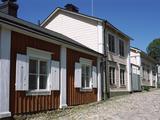 Wooden Houses  Vuorikatu  Porvoo  Finland