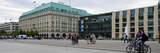 Tourists at a Town Square  Hotel Adlon  Unter Den Linden  Pariser Platz  Berlin  Germany