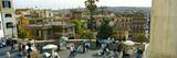 Tourists in a Market  Piazza Trinita Dei Monti  Rome  Italy
