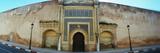 Walls of the Medina in Meknes  Morocco