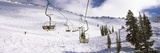 Ski Lifts in a Ski Resort  Snowbird Ski Resort  Utah  USA