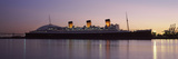Rms Queen Mary in an Ocean  Long Beach  Los Angeles County  California  USA