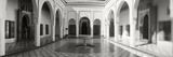 Courtyard in the Bahia Palace  Marrakesh  Morocco
