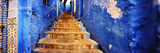 Staircases of the Medina are All Painted Blue  Chefchaouen  Morocco
