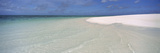 Tide Lapping on the Beach  Shark Bay  Heron Island  Whitsunday Islands  Queensland  Australia
