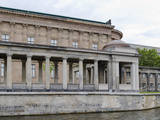 Museum at the Riverside  Altes Museum  Spree River  Berlin  Germany